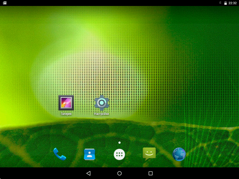 Рабочий стол Android x86