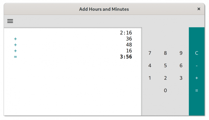 Add Hours and Minutes