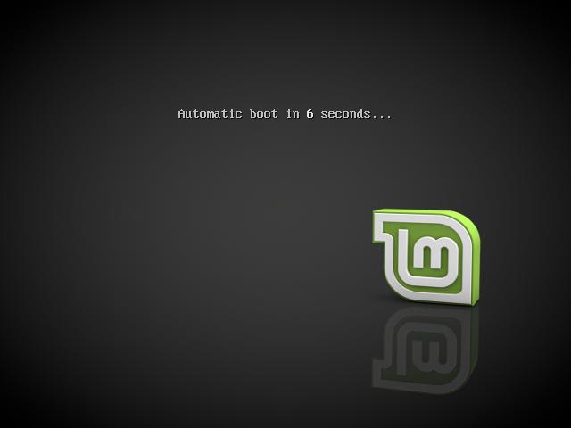 Linux Mint Загрузка LiveCD