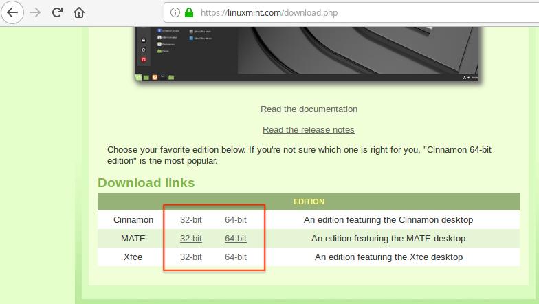 Скачиваем Linux Mint