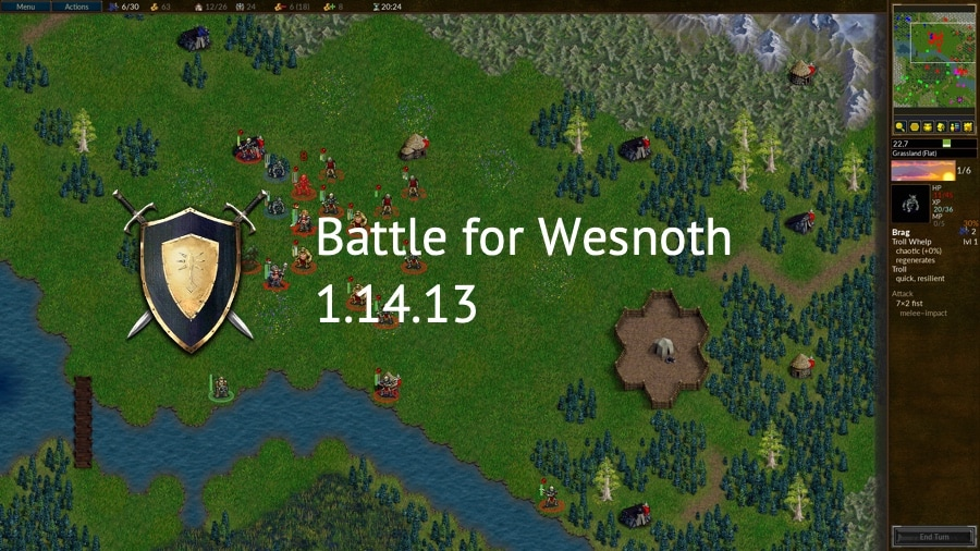 Battle for Wesnoth 1.14.13