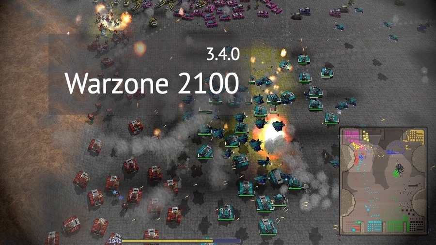 Warzone 2100 3.4.0