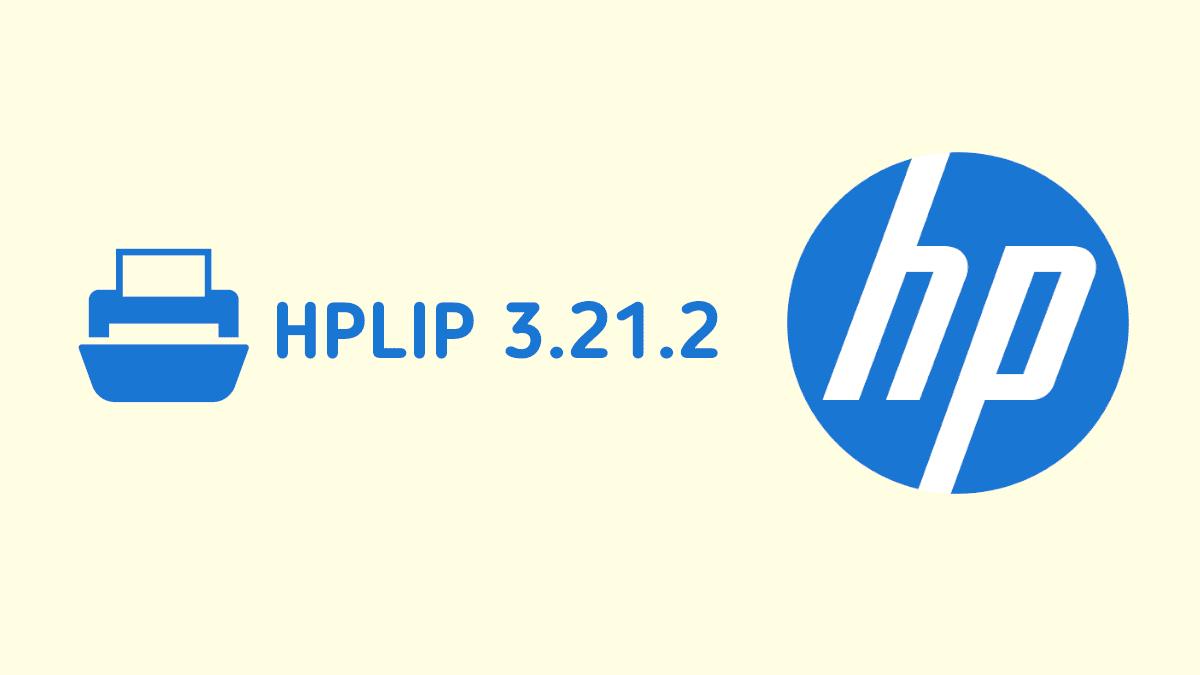 HPLIP 3.21.2