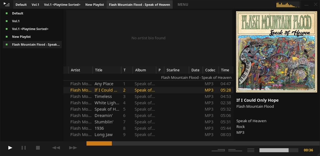 Tauon Music Box 4.1.1