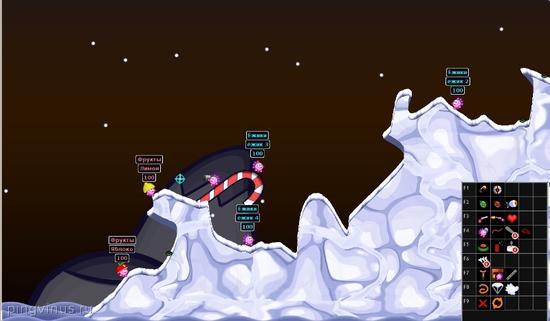 Hedgewars - аркада, в которой сражаются команды ежиков, скачать бесплатно. Игры для Linux