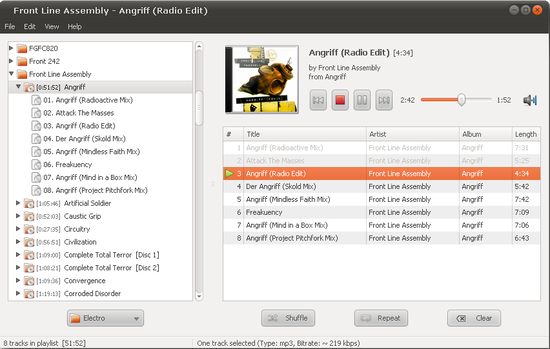Decibel Audio Player