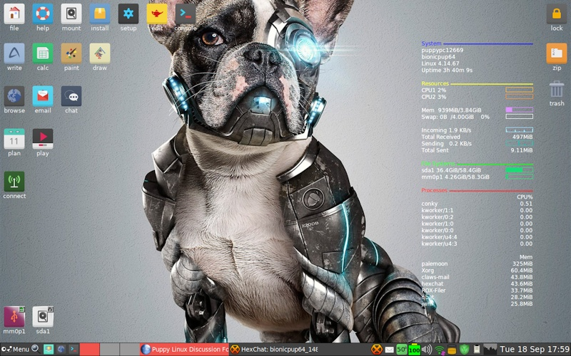 Puppy Linux 8.0