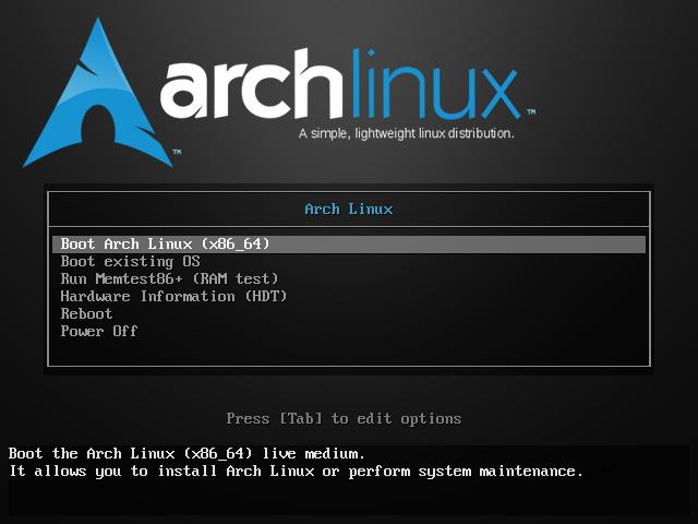 ArchLinux Live
